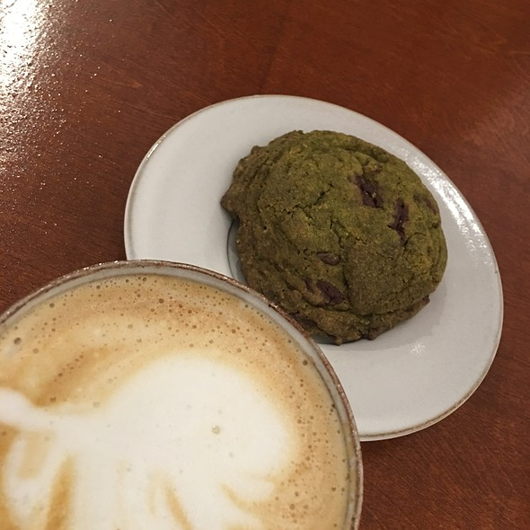 Green Tea Cookie @ Ars Cafe