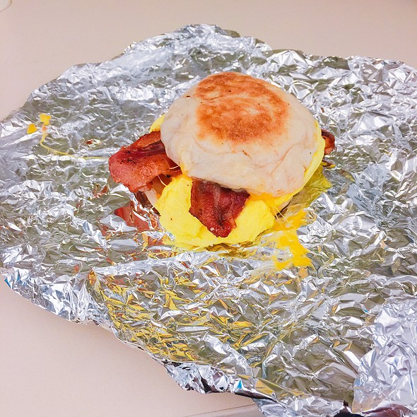 Bacon Breakfast Sandwich - Capitol Garage, Sacramento, CA