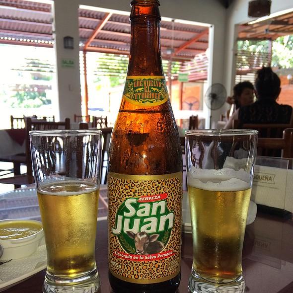 Cerveza San Juan @ Anaconda