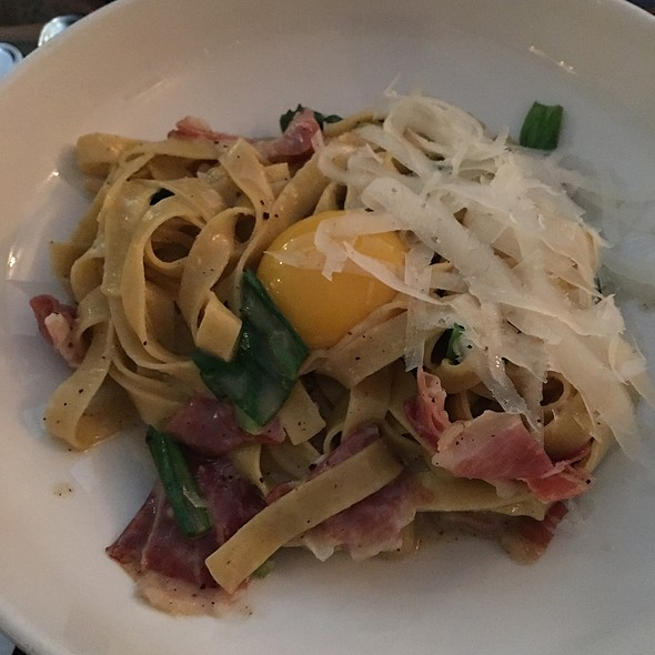 Tajarin Alla Carbonara - dell'anima, New York, NY