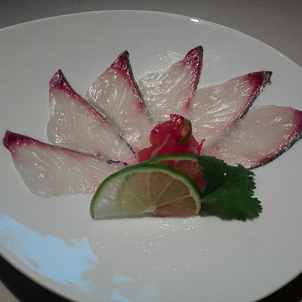 Shima Aji Carpaccio @ Tomo Japanese Restaurant