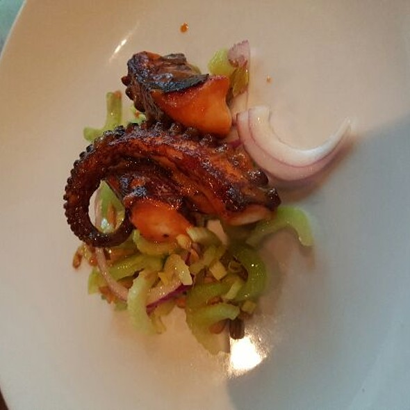 Special Octopus Appetizer - City House, Nashville, TN