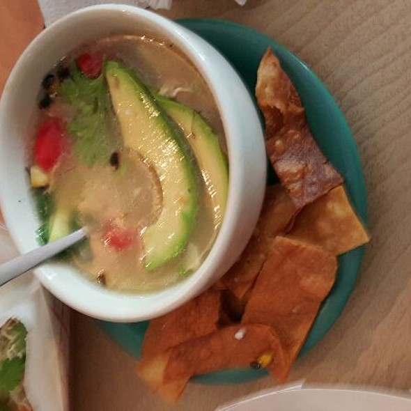 . Chicken Tortilla Soup . @ mas tacos por favor