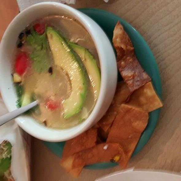 . Chicken Tortilla Soup . @ mas tacos por favor