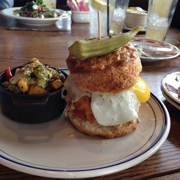 Chicken In A Biscuit @ Ida Claire