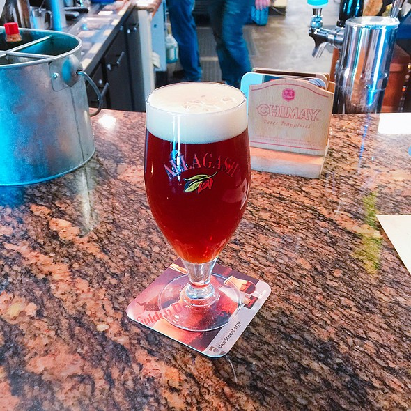 Allagash Dubbel Beer  @ Pangaea Two Brews Cafe