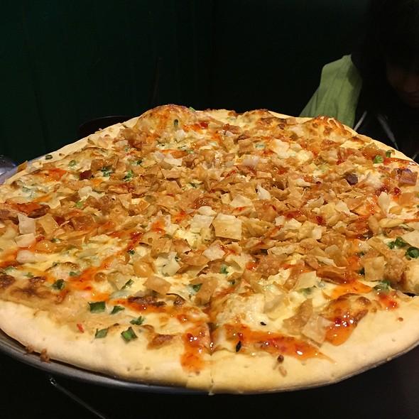 Crab Rangoon Pizza @ Fong's Pizza