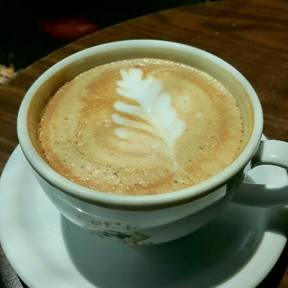 Cappuccino @ Global Peace Factory Coffee Shop
