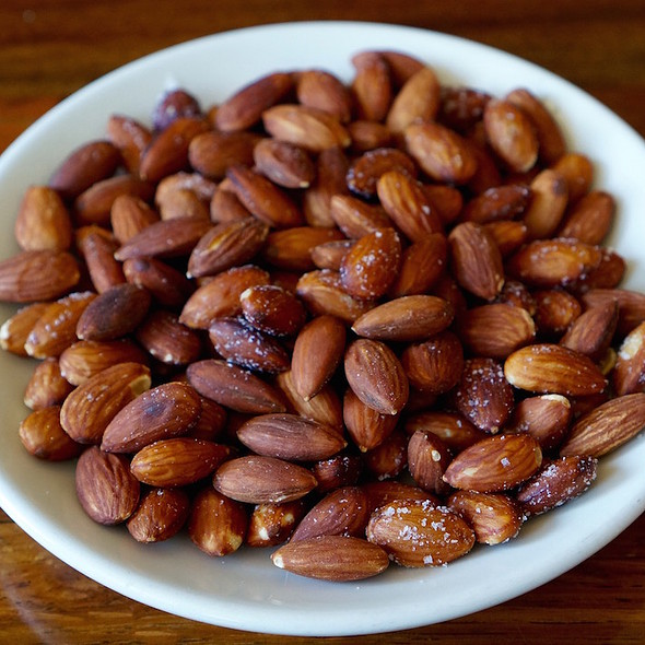 Fried Almonds - Olympia Provisions Southeast, Portland, OR