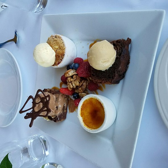 Mini Dessert Sampler - The Waterfront Restaurant and Cafe, San Francisco, CA