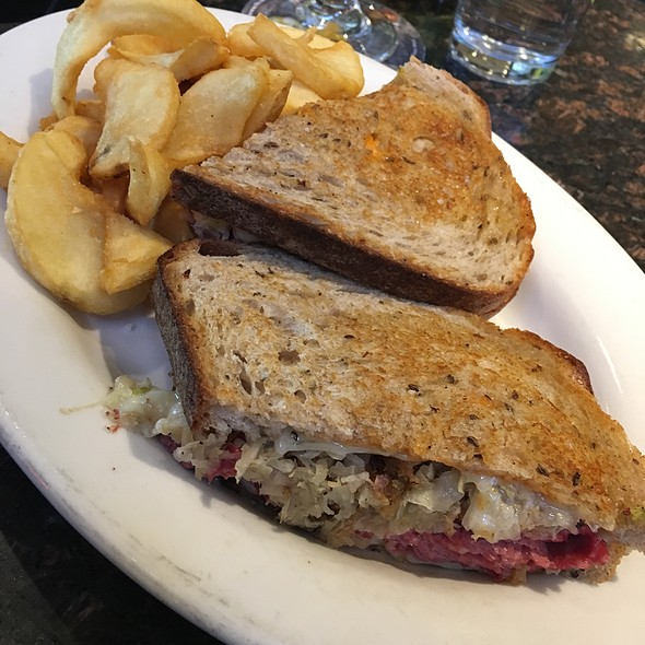Reuben Sandwich @ Red Rock Brewing Company