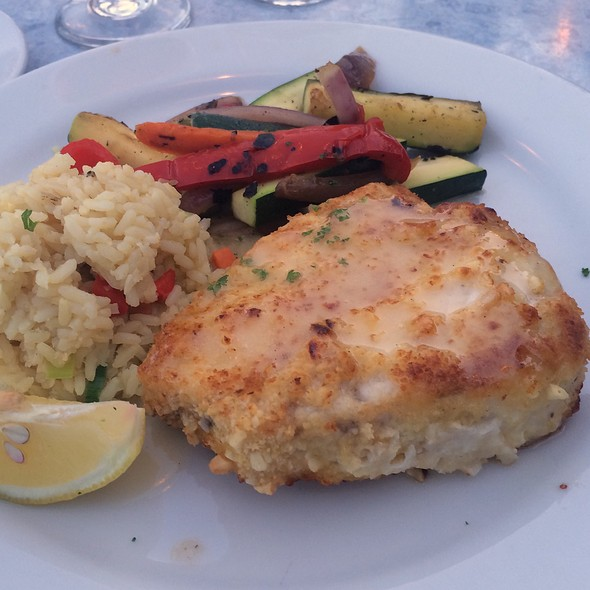 Fresh Swordfish - Cannons Seafood Grill, Dana Point, CA