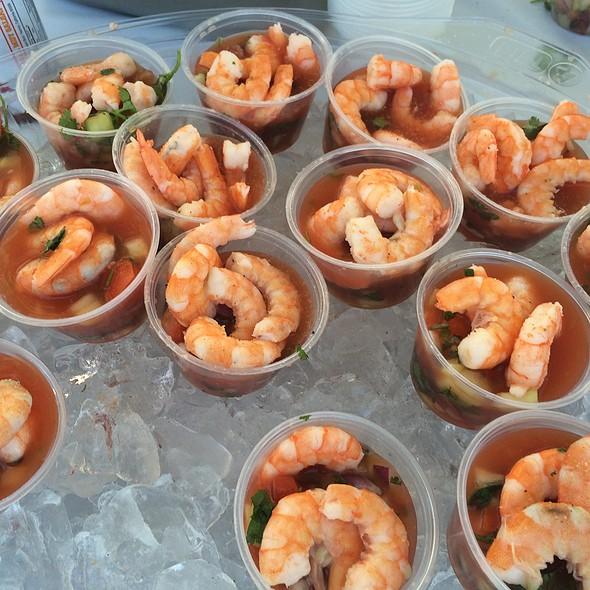 Shrimp Cocktail @ Las Playas