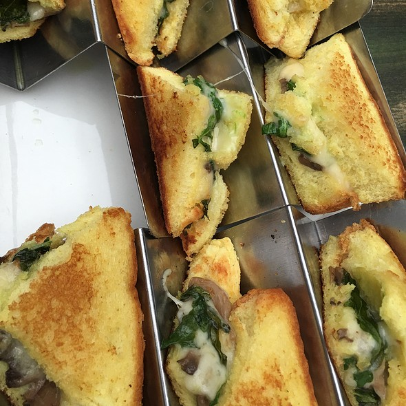Truffle Grilled Cheese @ Hotel Chantelle