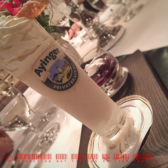 Bock Beer Ice Cream @ Brauereigasthof-Hotel Aying
