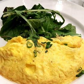 Blue Crab Omelette - Palace Café, New Orleans, LA