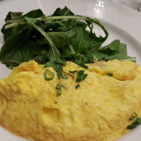 Blue Crab Omelette @ Palace Cafe