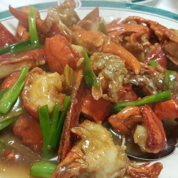 Lobsters With Ginger And Scallions @ Vinh Hoa Restaurant