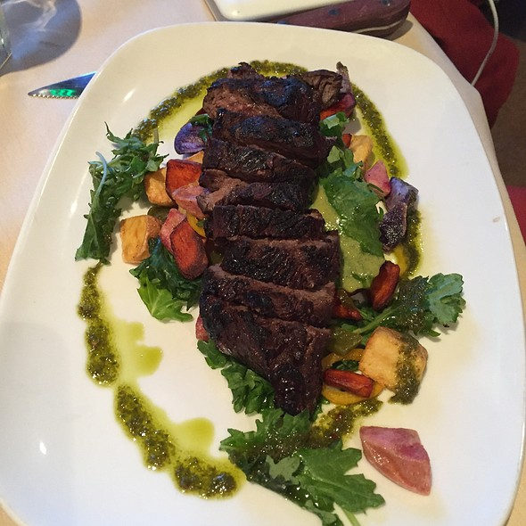 Grilled Hanger Steak - Washoe Public House, Reno, NV