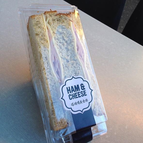 Ham and Cheese Sandwich @ The Taronga Centre