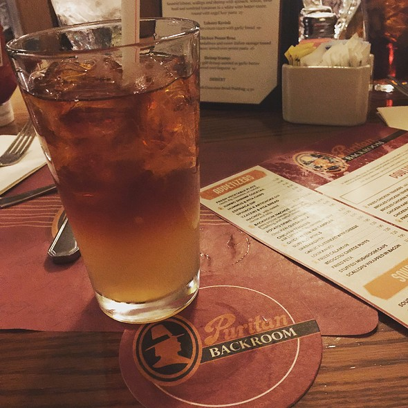 Dark and Stormy @ Puritan Backroom Restaurant