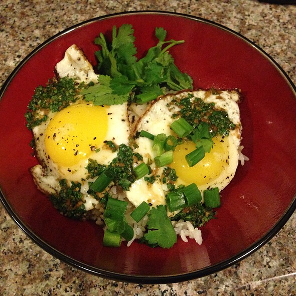 Eggs and Rice @ Home