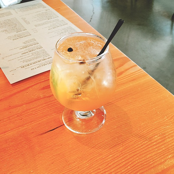 gin and tonic @ Hock Farm Craft & Provisions