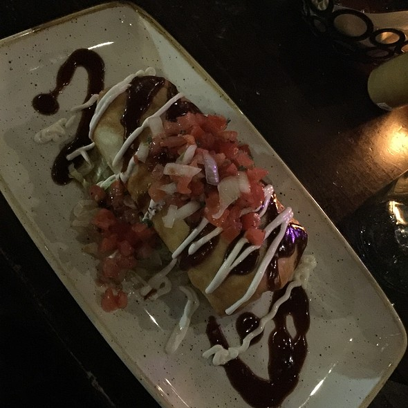 Chipotle Beef Chimichanga @ Anejo Mexican Bistro