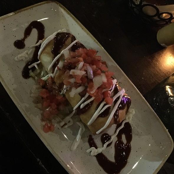 Chipotle Beef Chimichanga @ Anejo Mexican Bistro