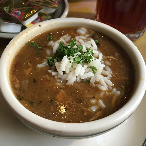 Chicken Andouille Gumbo @ Gumbo Shop