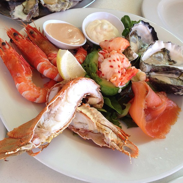Cold Seafood Plate @ Blue Fish