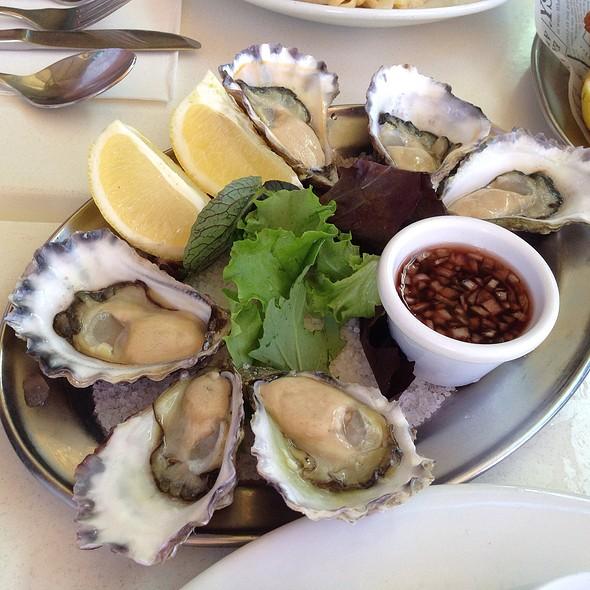 Fresh Oysters @ Blue Fish
