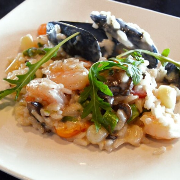 Seafood Risotto For Brunch - GG's Waterfront Bar & Grill, Hollywood, FL