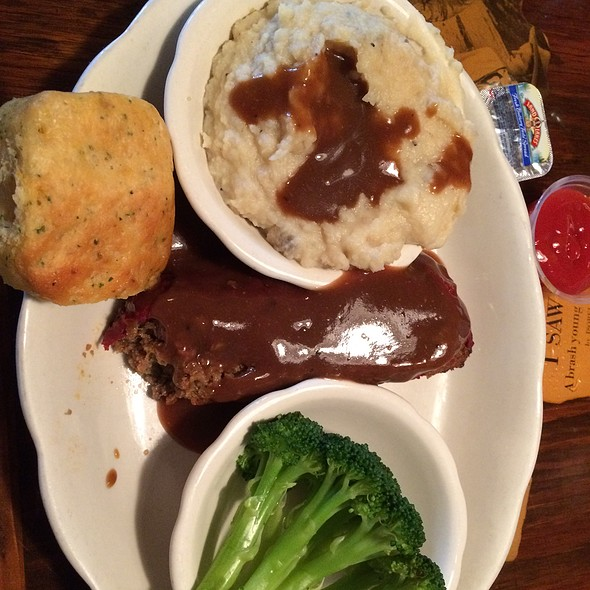 Meatloaf @ Yesterday's Restaurant