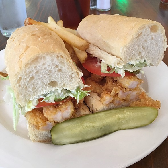 Shrimp Po'boy @ Grand Isle Restaurant