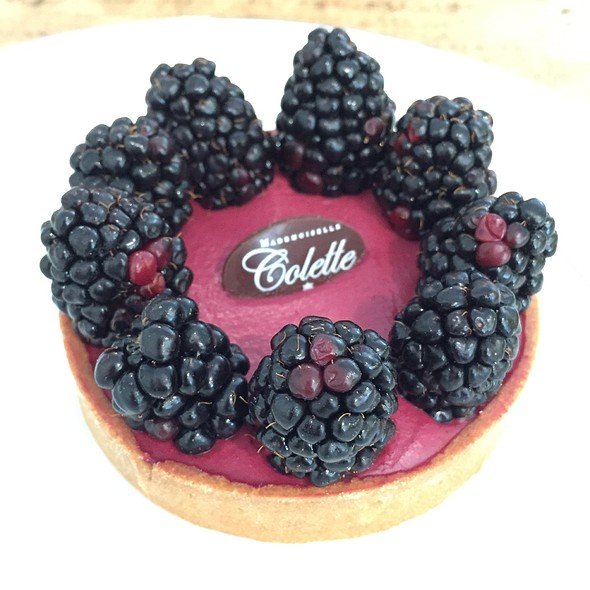 Blackberry Tart @ Mademoiselle Colette
