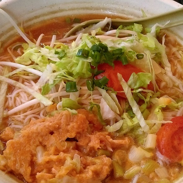 蝦米蟹糕湯檬 Crab Meat in Tomato Based Soup Bun @ 西貢越南湯河 Pho Saigon