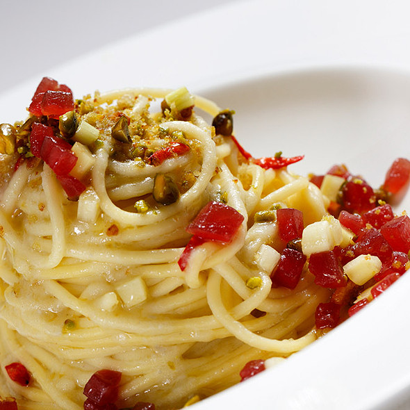 Spaghetti @ Ristorante I Carracci