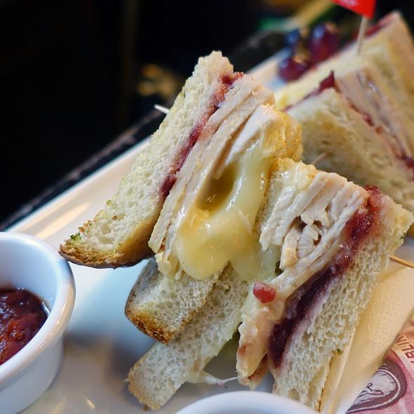 Turkey, Cranberry And Brie Sandwich @ The Temple Bar Pub