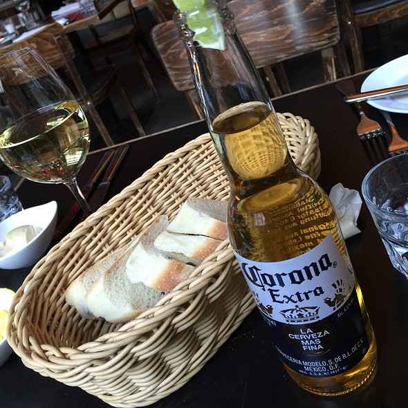 Corona Beer & Riesling