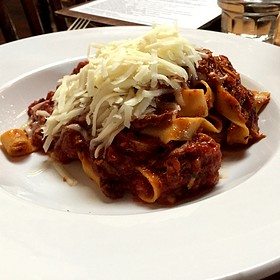 Tagliatelle With Pork And Beef Bolognese