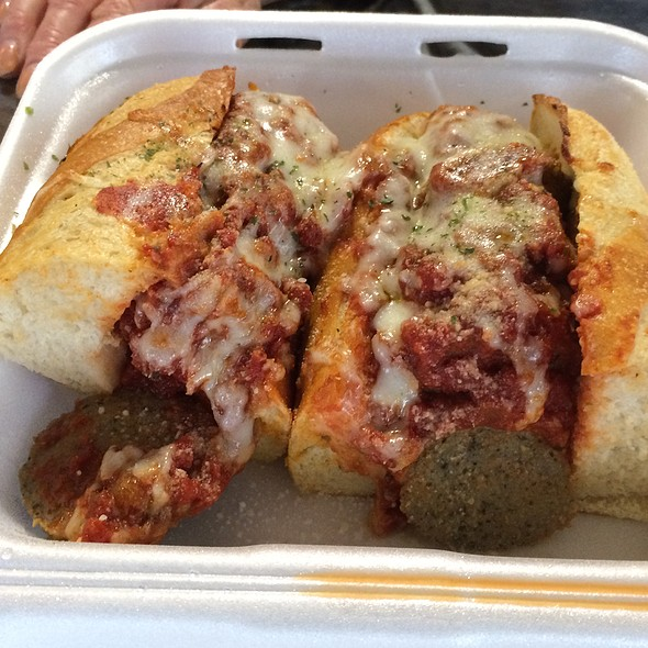 Meatball Sandwich @ Pizza Boy