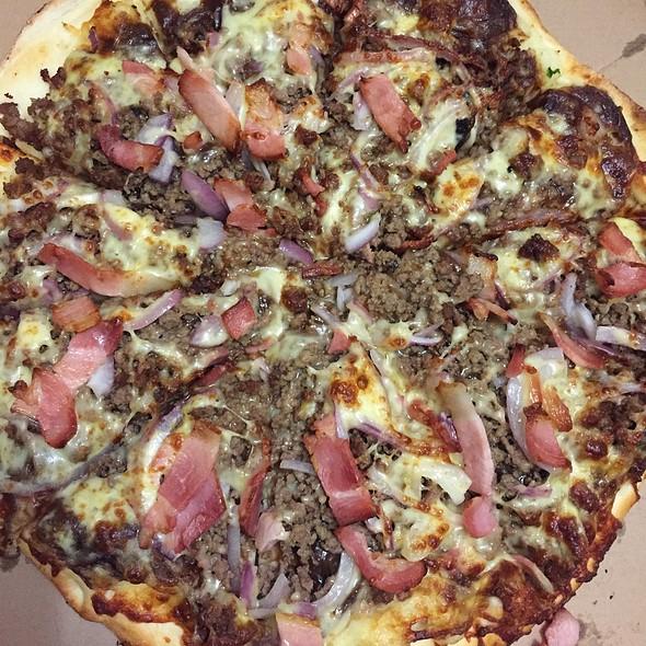 Potato Pie Pizza @ The Pizza & Pasta Kitchen