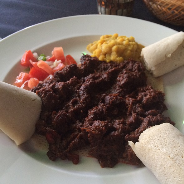 Yebere Tibs @ Ethiopian Love Restaurant