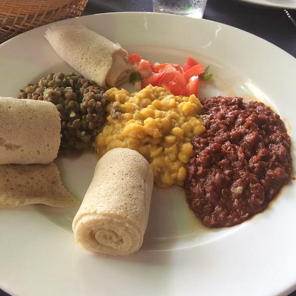 Veggie Sampler @ Ethiopian Love Restaurant