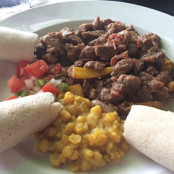 Lamb Tibs @ Ethiopian Love Restaurant