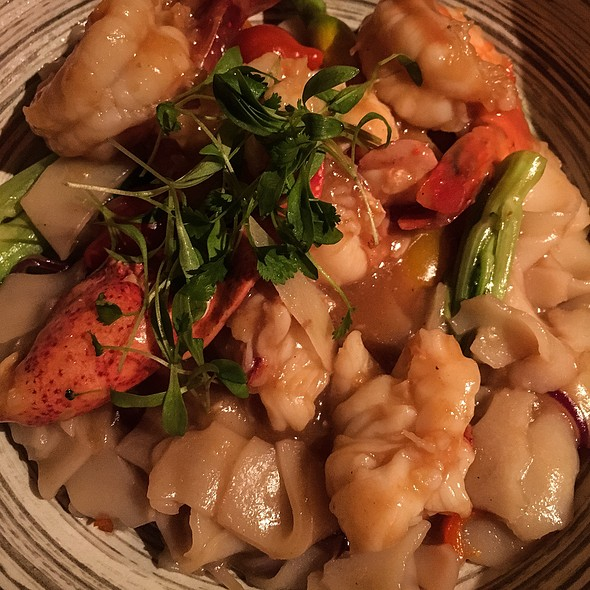Shrimp & Lobster Chow Fun - Buddakan NY, New York, NY