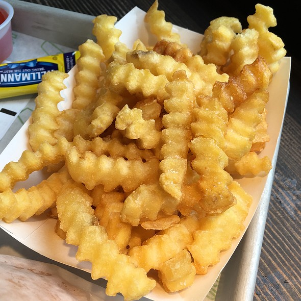 Crinkle Cut Fries @ Shake Shack