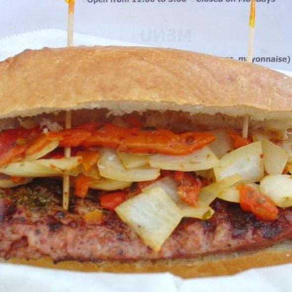 Choripan Sandwich @ Tanguito