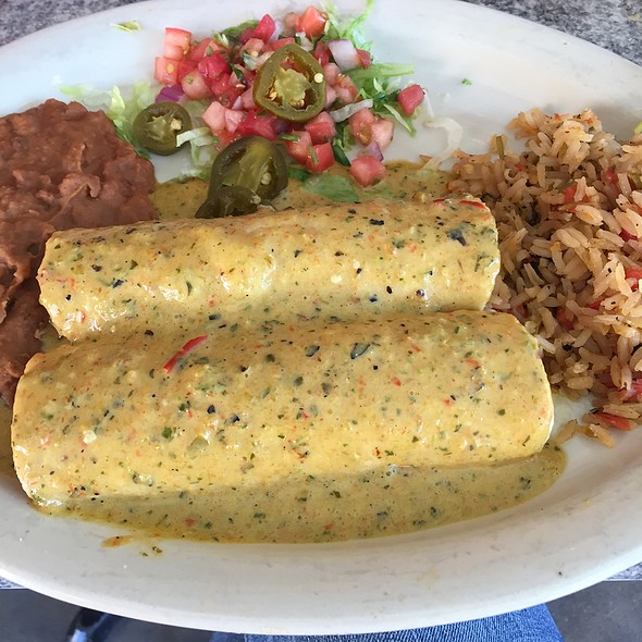 Chicka-Chicka Boom-Boom Enchiladas @ Chuys
